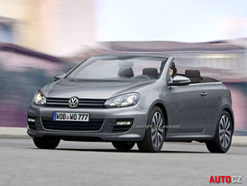 VW Golf Cabrio: První skica