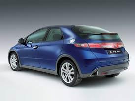 Honda Civic 5D: Ak�n� sleva 60.000,-K�, z�kladn� verze za 339.900,-K�