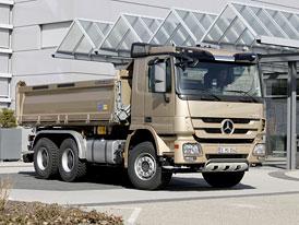 Český trh v roce 2010: Mercedes-Benz nejúspěšnější mezi nákladními automobily