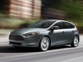 Ford Focus Electric: Čistý Focus s tváří Astonu