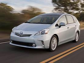 Toyota Prius v: Hybridní MPV oficiálně představeno
