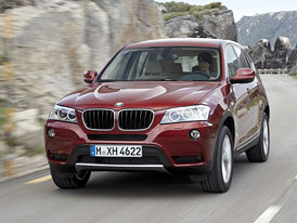 BMW X3: Nový šestiválec xDrive28i za 1,185 mil Kč