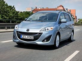 Modernizovaná Mazda 5: Ceny v ČR začínají na 521.900,- Kč