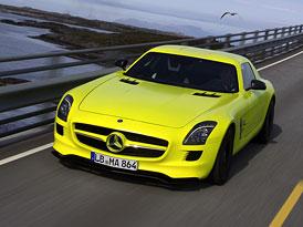 Mercedes-Benz SLS AMG E-Cell: V�roba potvrzena