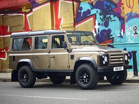 Land Rover Defender X-Tech Limited Edition: Premiéra v Bruselu