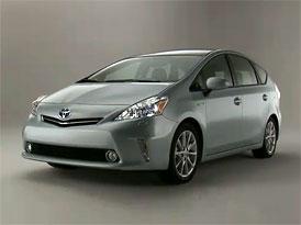 Video: Toyota Prius v – Hybrid s karoserií MPV