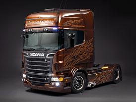 Scania V8 Black Amber: Individualizace od výrobce