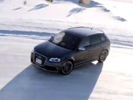 Video: Audi RS 3 Sportback – Jízda na sněhu