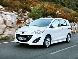 Mazda 5 1,6 MZ-CD (85 kW): Nižší hmotnost, nižší spotřeba