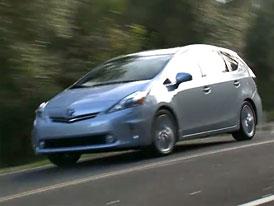 Video: Toyota Prius v – Hybridní MPV v pohybu