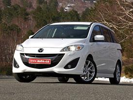 Mazda 5 1,6 MZ-CD (85 kW): První jízdní dojmy