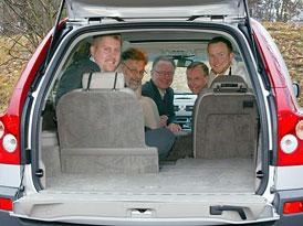Volvo XC 90 dostalo ocenění za sedadla ve třetí řadě