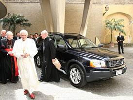 Volvo XC90 pro papeže Benedikta XVI.