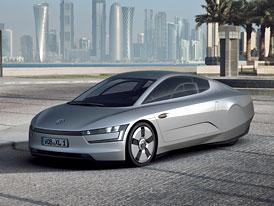 Volkswagen XL1: Dvouválcový diesel-hybrid