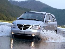 Ssangyong: další značka nabízející výhradně vozy s pohonem všech kol