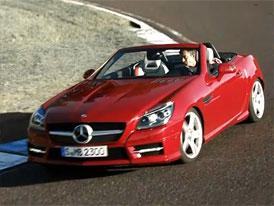 Video: Mercedes-Benz SLK – Ve studiu i na silnici