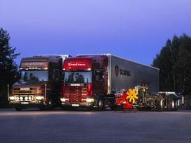 Prodeje těžkých nákladních vozů za rok 2001