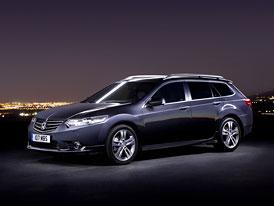 Honda Accord 2011: Inovovaný vzhled, podvozek a úspornější motory