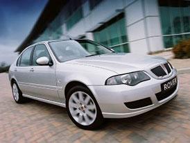 Prod�no: MG Rover pat�� ���an�m
