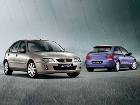 Jarní novinky Roveru: inovované řady 25/MG ZR a 45