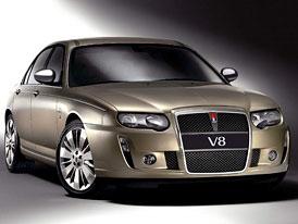Rover 75 V8: návrat osmiválce
