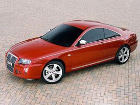 Rover žije: studie Rover 75 Coupé