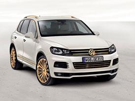 VW Touareg Gold Edition: Pozlacen� SUV pro �ejky