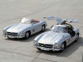 Fascinace: Mercedes-Benz 300 SL na vlastní oči