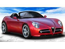 Alfa Romeo 8C Spider: kráska na Pebble Beach