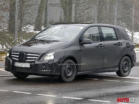 Spy Photos: Mercedes-Benz B – S pomocí Renaultu