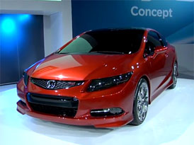 Video: Honda Civic Concept – Sedan i kupé z Detroitu
