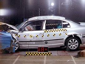 Nov� crashtesty EuroNCAP - �koda Superb a dal��