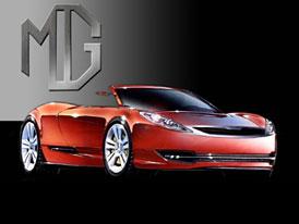 Zájemci  o MG Rover ukázali skici novinek