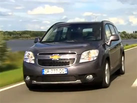 Video: Chevrolet Orlando – Nové kompaktní MPV
