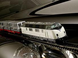 Kuriozita: Maybach má v nabídce již také vlak