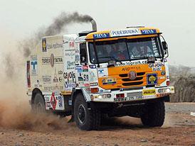 Dakar: Loprais si polepšil, je čtvrtý