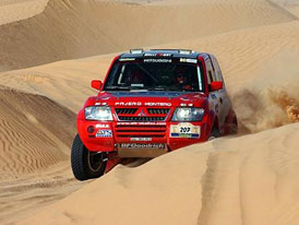 Dakar 2003 : Loprais vyhrál etapu a celkově je druhý