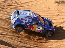 Dakar: Sainz vyhrál etapu, Loprais se drží