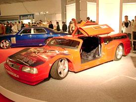 Essen Motor Show: automobilové kuriozity