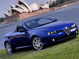 Alfa Romeo Spider 1750 TBi: Labut� p�se� u protino�c�