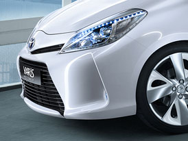 Toyota Yaris HSD: Koncept malého hybridu