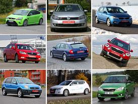 30 nejprodávanějších modelů roku 2010