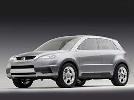 Svou podobu ukázala studie crossoveru Acura RDX