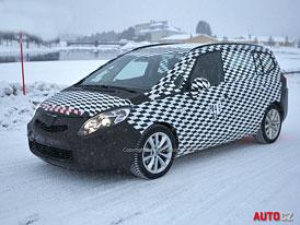 Spy Photos: Opel Zafira C – Grand už v základu