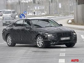 Spy Photos: Mercedes-Benz S (W222) � Op�t technicky na v�i