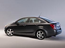 Chevrolet Aveo: �ty�dve�ov� sedan pro Evropu