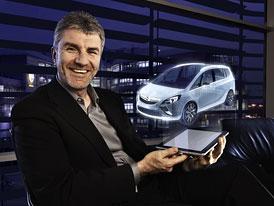 Nový Opel Zafira v Ženevě, nejprve jen jako koncept