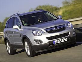 Opel Antara: Technická data a české ceny po modernizaci