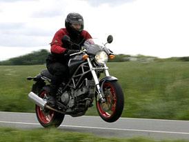 Test: Ducati Monster 1000S: monstrózní jízda