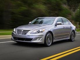 Hyundai Genesis 5,0 V8 R-Spec: Nový motor a osmistupňová převodovka